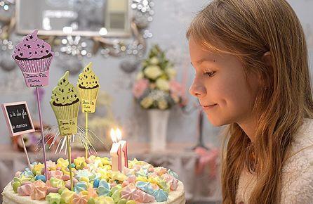 Mergaitiškas gimtadienis