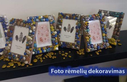 Foto rėmelių dekoravimas