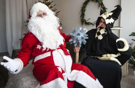 Kalėdų senelis ir Trolis