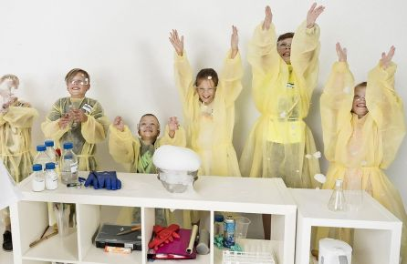 Mokslininkų vakarėlis vaikams