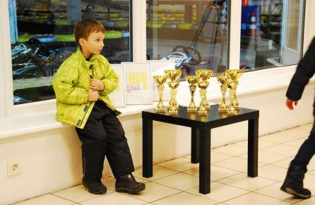 Kartingų varžybos vaikams