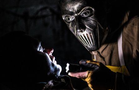 Siaubo kambarys mergvakariui