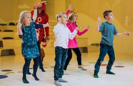 Vaikų šventė pramogų centre