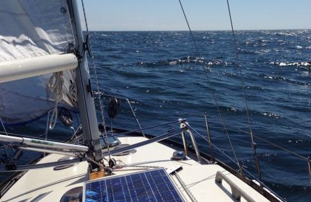 Burinė jachta Trakuose