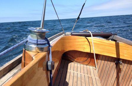 Burinė jachta mergvakariui