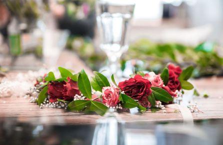 Gėlių vainikėlių pynimas