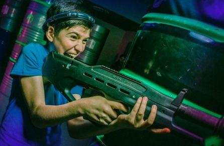 Laser tag žaidimas vaikams